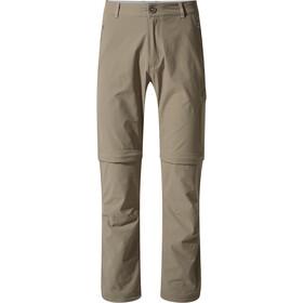 Craghoppers NosiLife Pro Pantaloni convertibili Uomo, beige